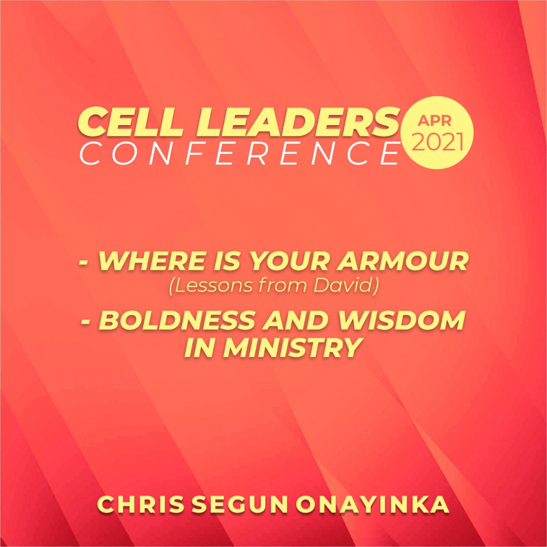 Cell Leaders Conference Apr 2021